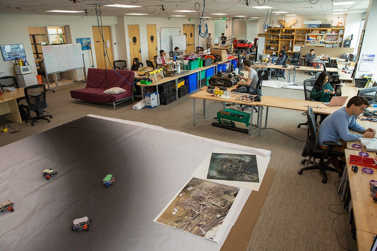 A view of the RSL lab space. | R.Mike Rasay