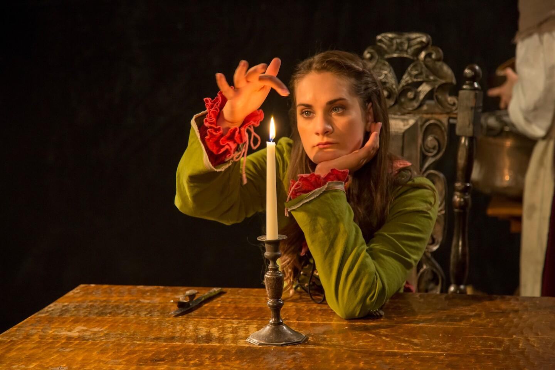 """""""Vireo"""" opera star Rowen Sabala. Photo by Bernie Wire."""