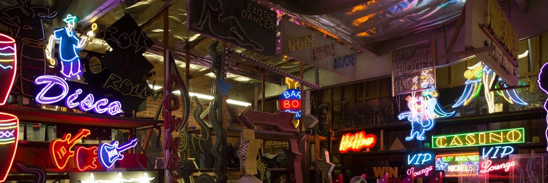 Artist Lisa Schulte's neon studio (primary)