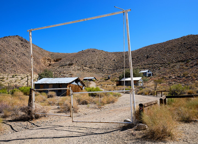 Ruth Mine, Homewood Canyon   Osceola Refetoff