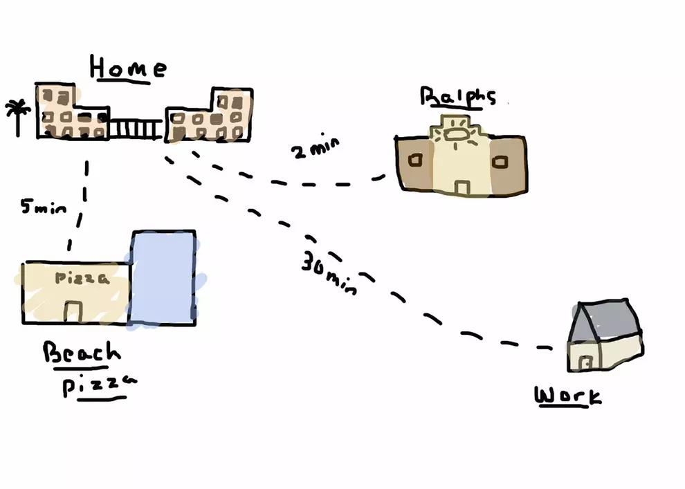 pandemic map by Tristyn Huggins