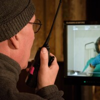 "Director Charles Otte shooting for episode ten of ""Vireo"" | David Soderlund"