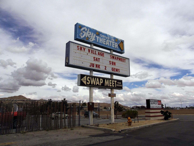 Sky Village Swap Meet Old Woman Springs Road