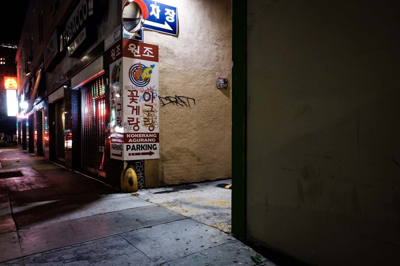 Western near 6th St. Koreatown 2019. | Kwasi Boyd-Bouldin