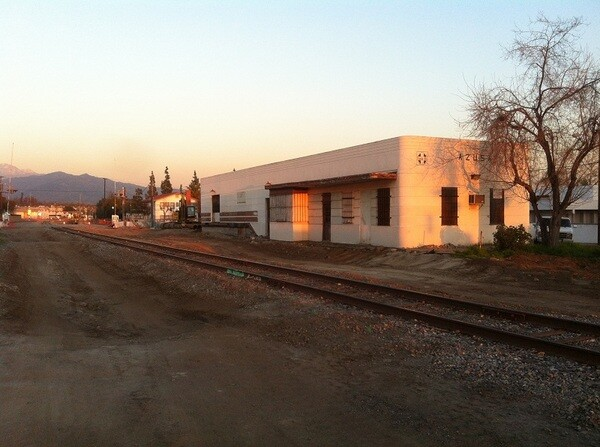 Azusa Station built in 1888 then remodeled in 1946