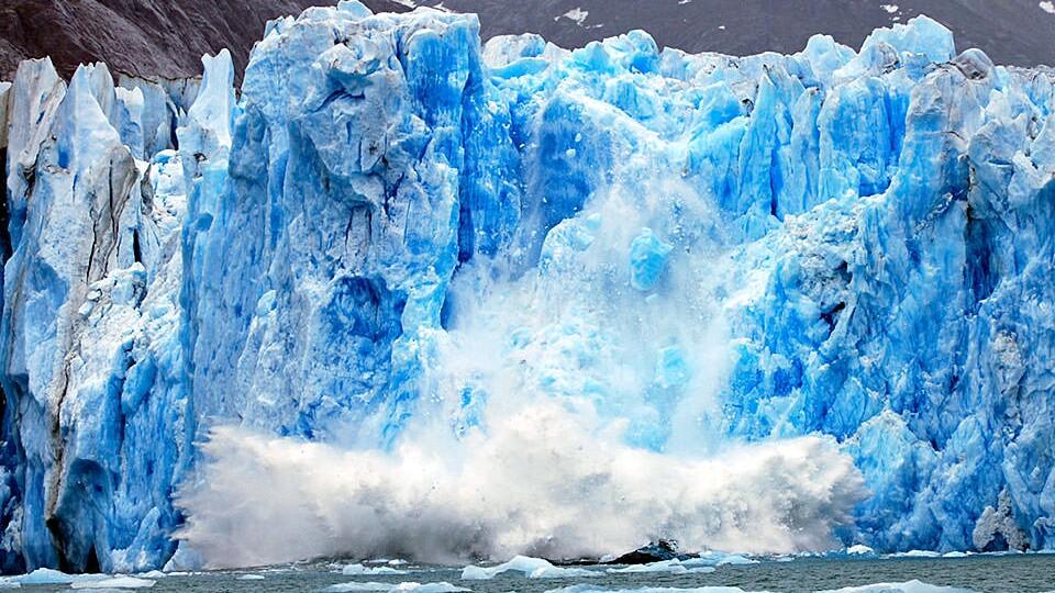 Melting glacier | photo courtesy: NOAA
