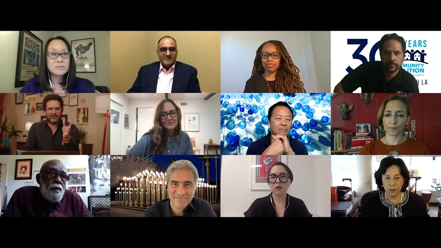 """Southland Sessions Episode One """"Change(makers): The Future of Arts and Culture"""" features a conversation with civic arts leaders across Los Angeles."""