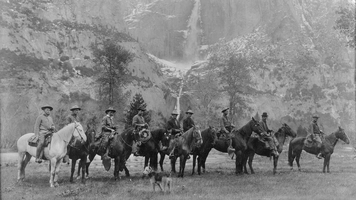 Explorers in Yosemite National Park | Public Domain
