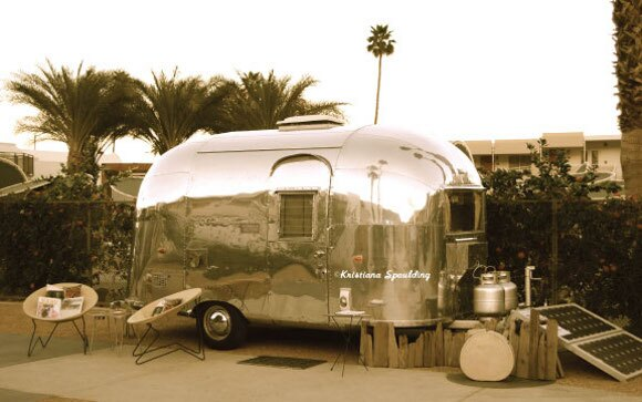 Vintage Trailer Show, Palm Springs.
