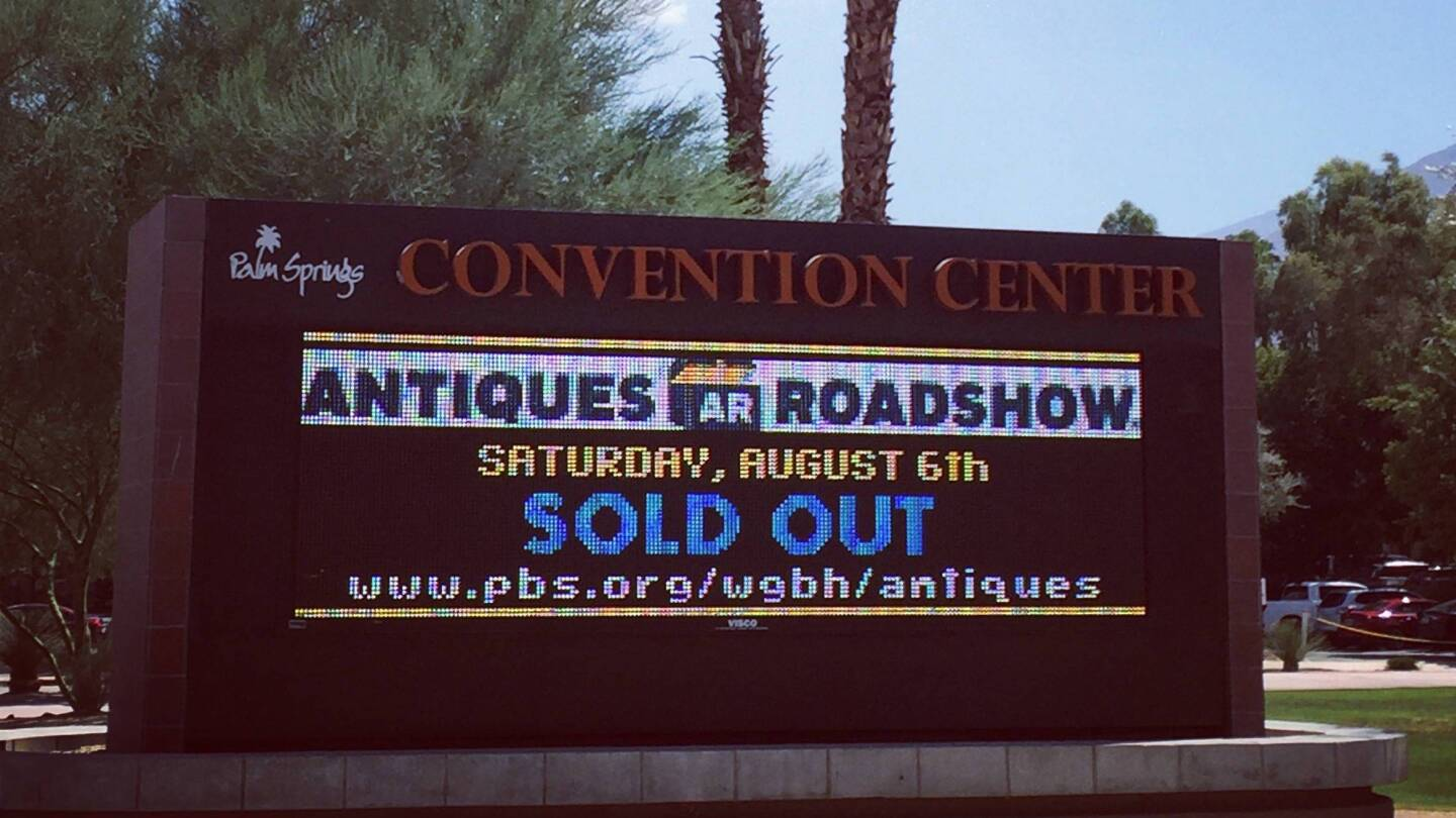 Antiques Roadshow Palm Springs
