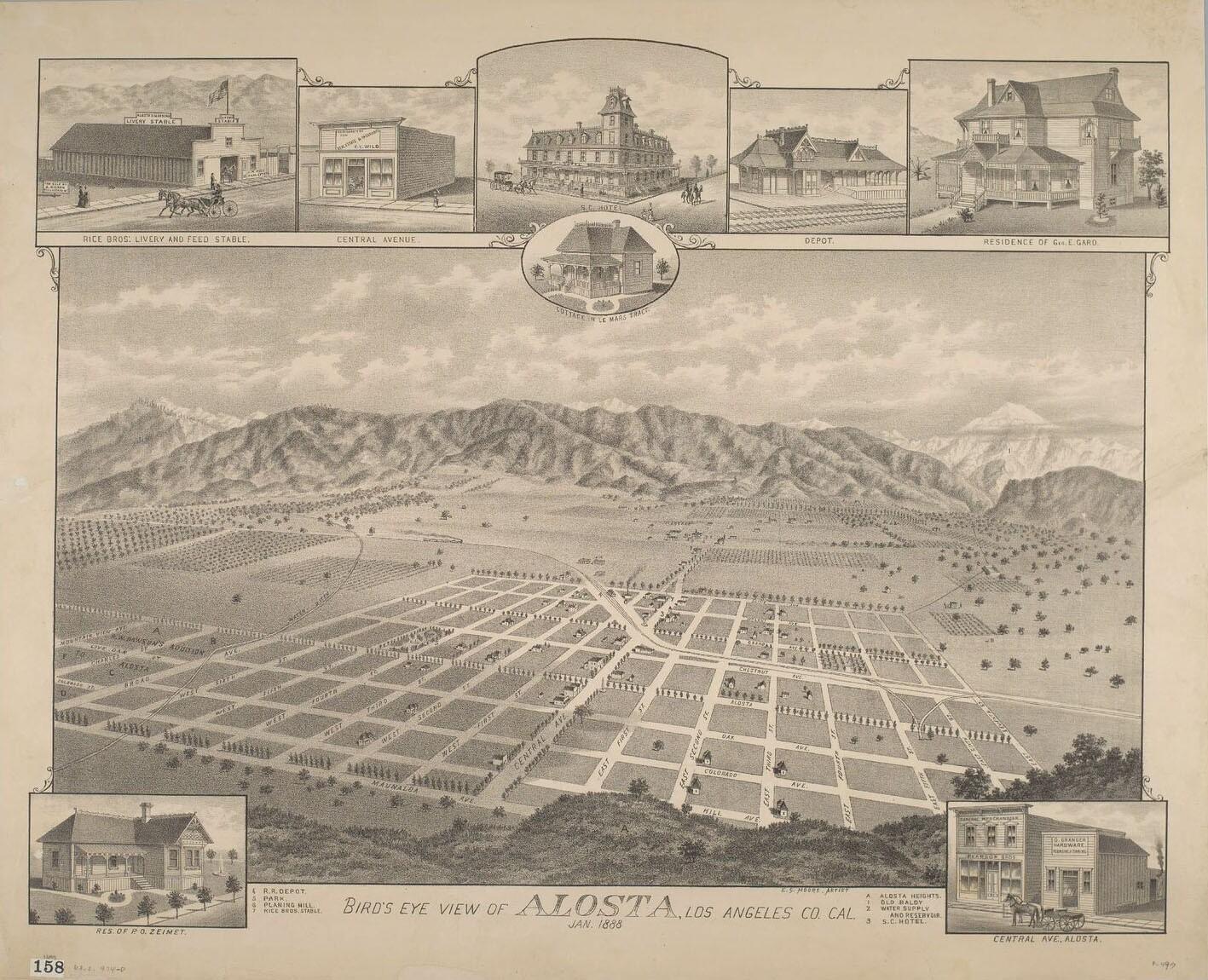 Alosta Map