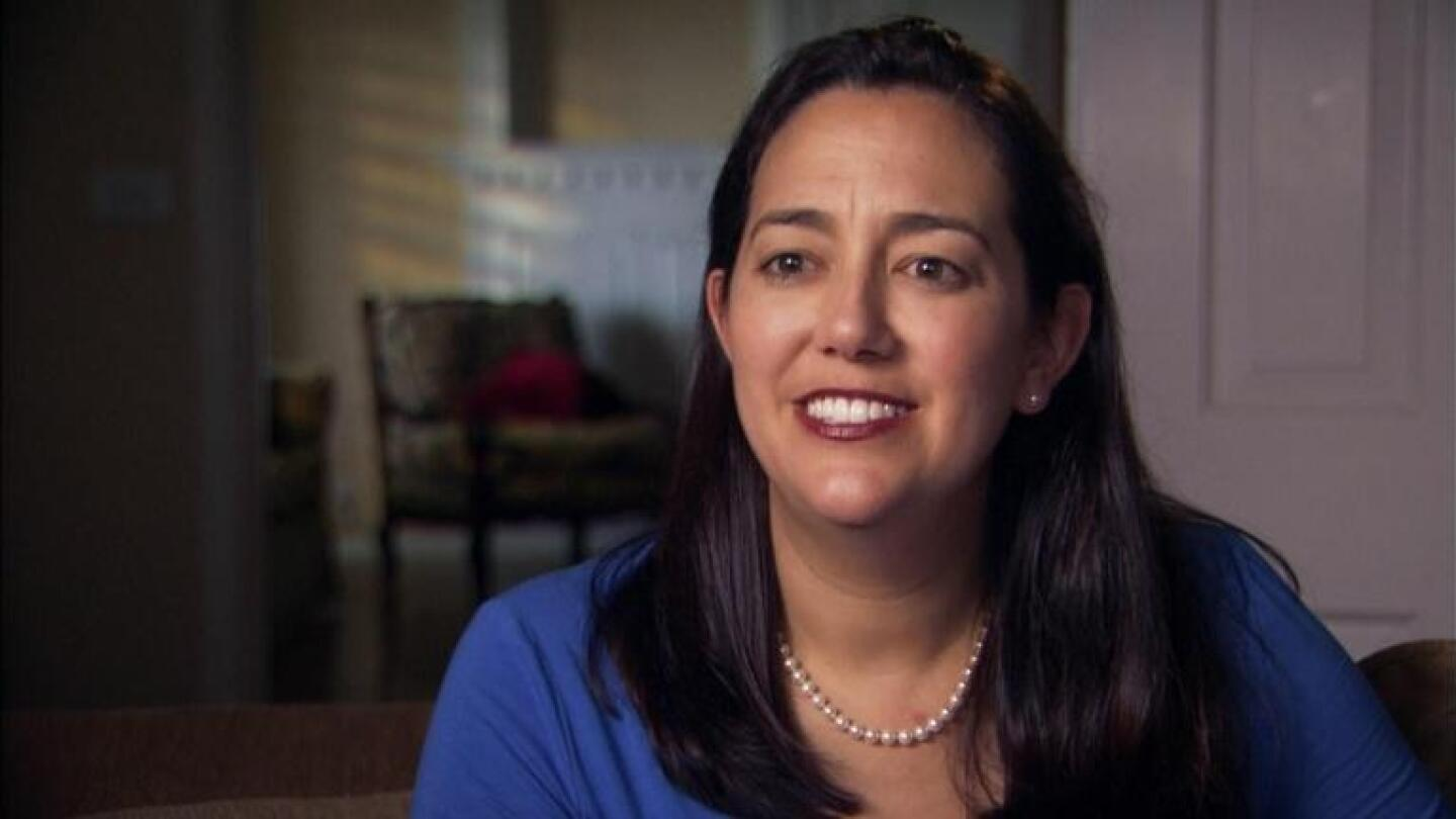 """Erin Gruwell is interviewed, from """"Freedom Writers: Stories from the Heart"""""""