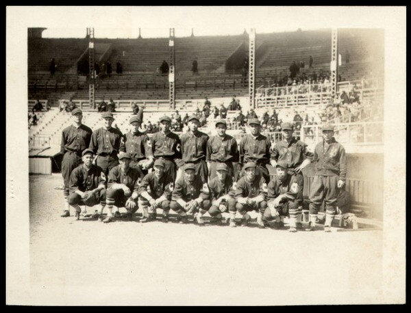 Los Angeles Nippons, ''Pride of Lil' Tokyo'' in 1931 during a tour of Japan