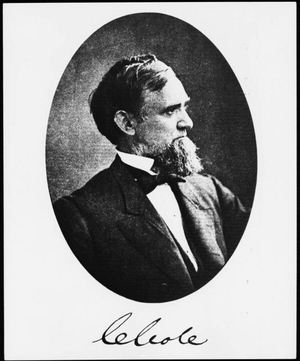 A portrait of a middle-aged Cornelius Cole. Courtesy of the USC Libraries - California Historical Society Collection.