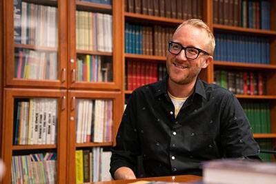 Nathan Masters at the Walt Disney Archives | Katie Noonan