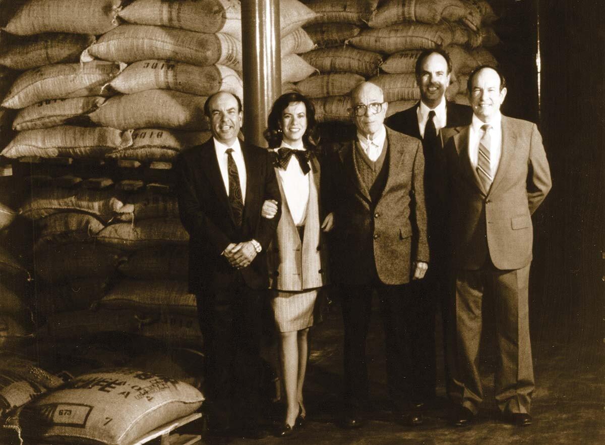 Gaviña family portrait in the 80s   Courtesy of Gaviña Coffee Company