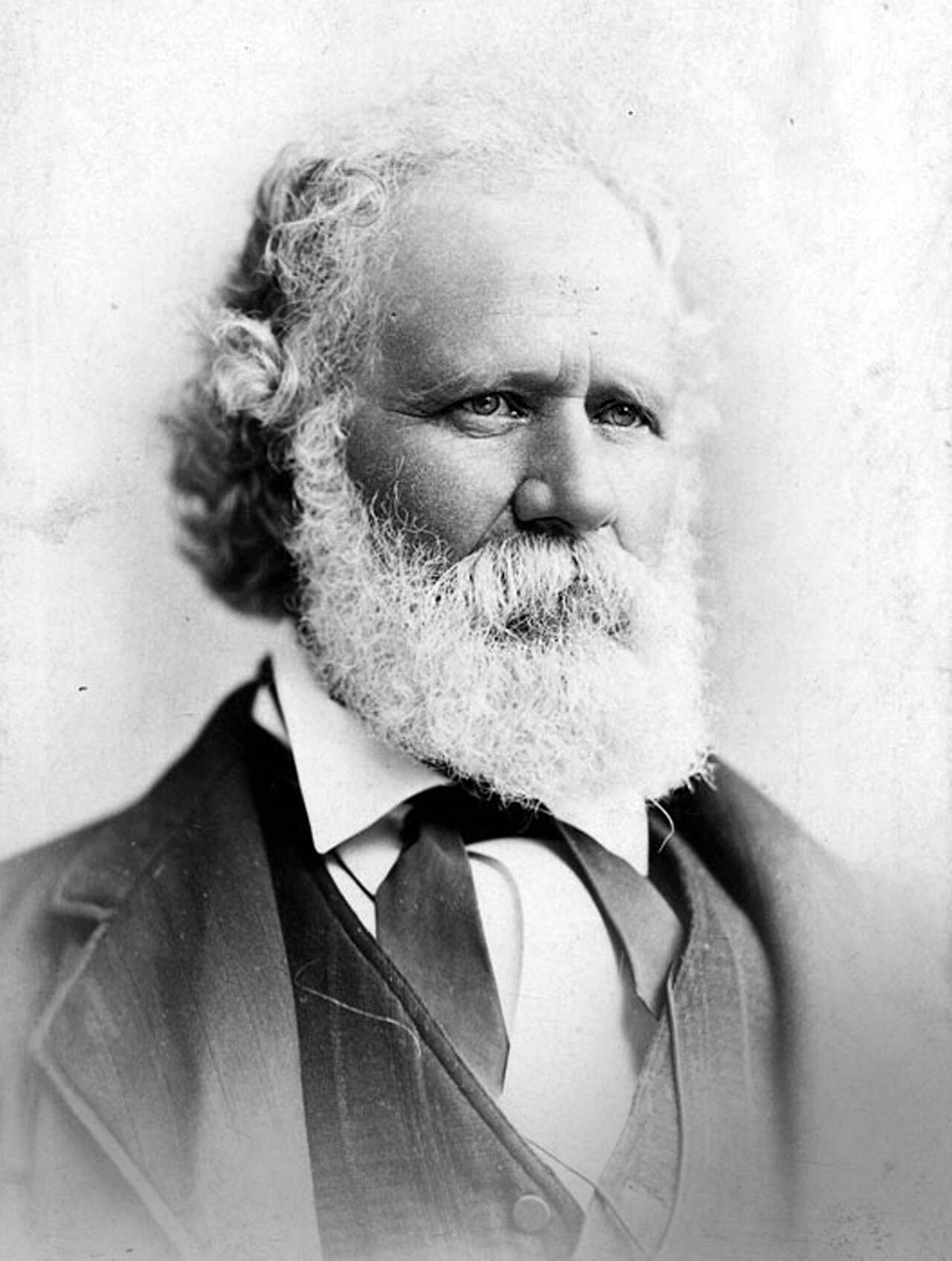 Dr. John S. Griffin. Griffin was a pioneer physician and businessman, as well as secessionist leader in Civil War-era Los Angeles. Photograph courtesy of Security Pacific National Bank Collection, Los Angs and scrapes. Photograph courtesy of Wikimedia.  ​