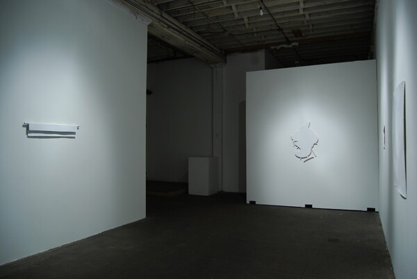 Installation view of Erased Exhibition at PØST by HK Zamani, 2009. Courtesty of the artist and CB1 Gallery
