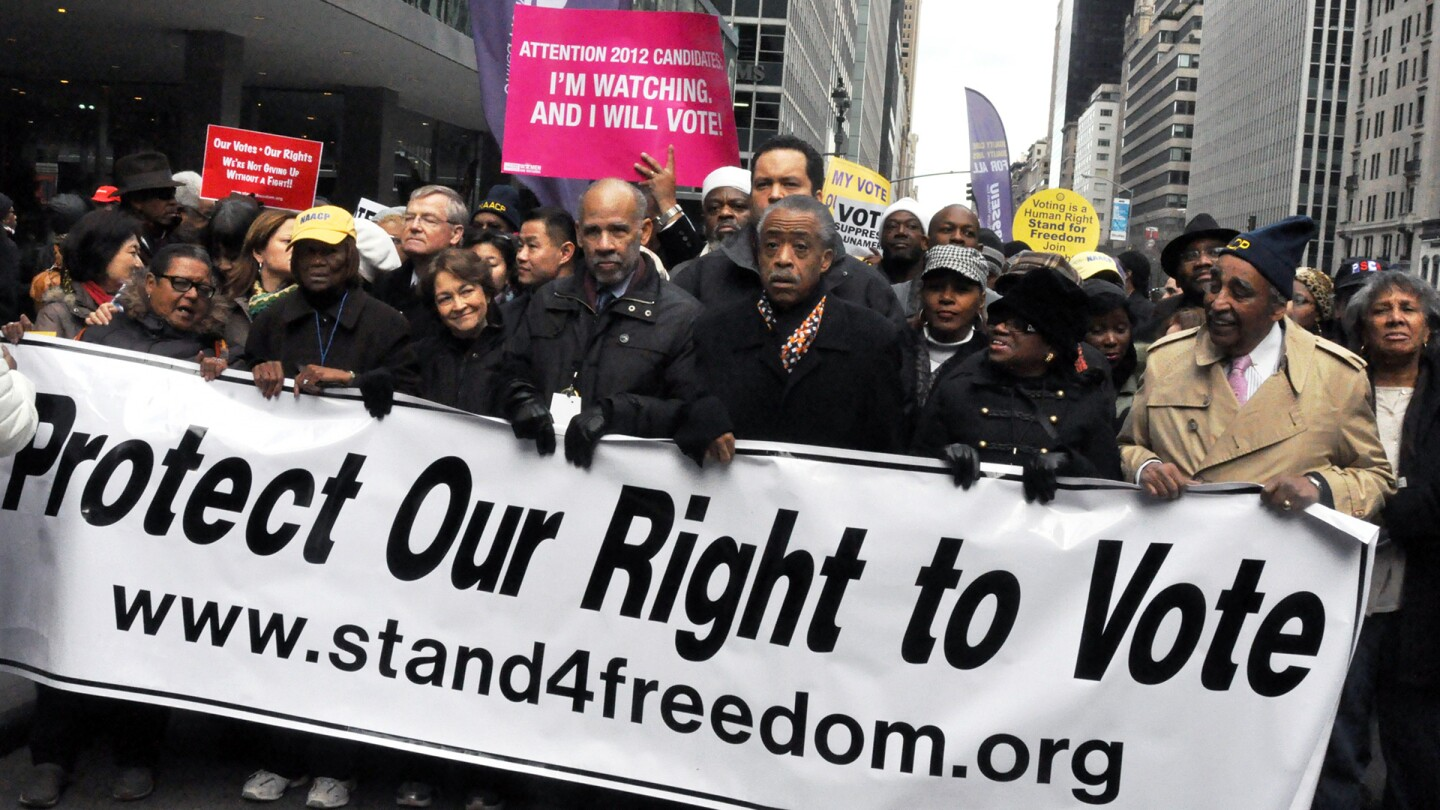 Voting Rights Protest, NYC