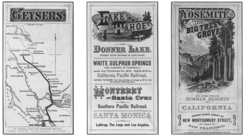 1880 Central and Southern Pacific brochure