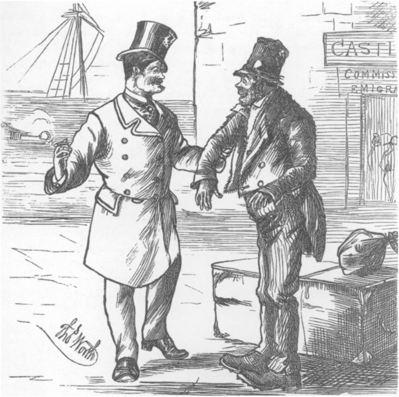 Harper's cartoon