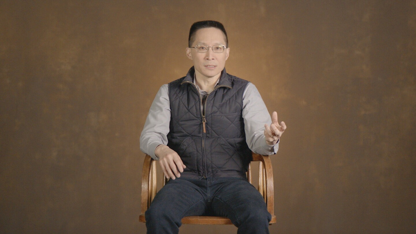 Eric Liu co-founder and CEO of Citizen University featured in POWER & HEALTH. (Image courtesy of KCET).