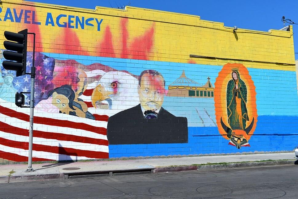 MLK/Virgin Mary Mural: South LA