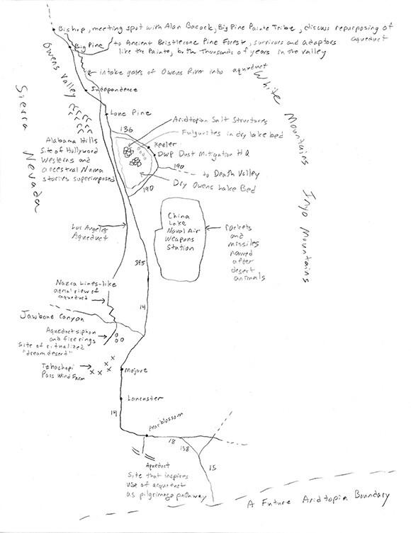 Hand drawn map | Tyler Stallings