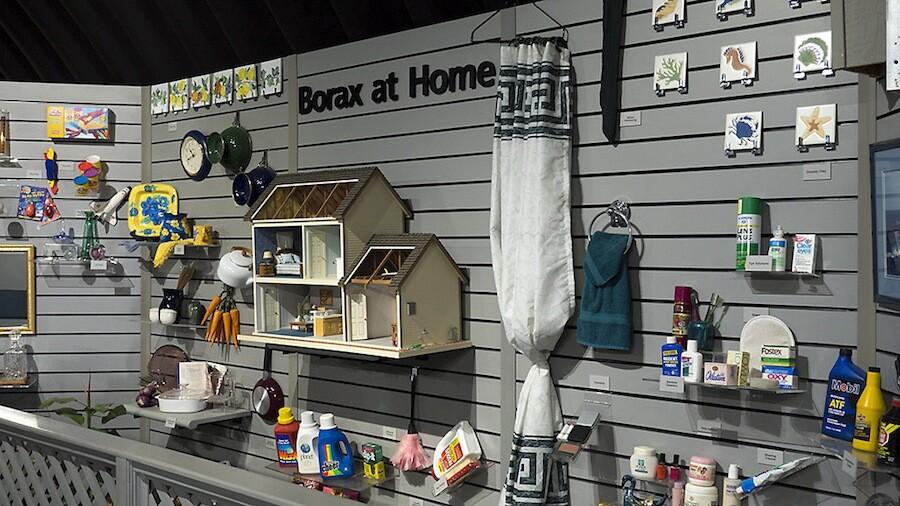 """Borax at Home,"" Twenty Mule Team Museum"