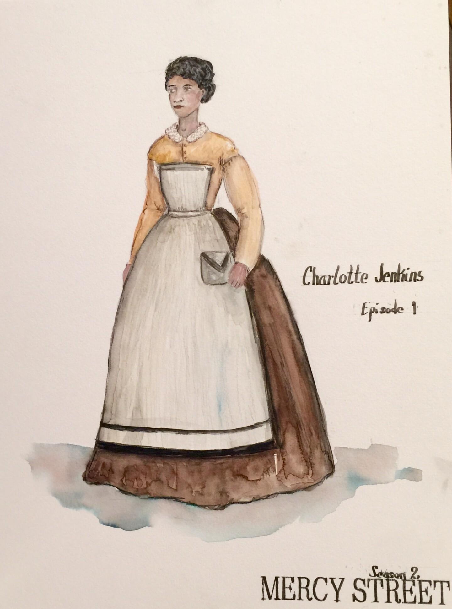 Charlotte Costume - Mercy Street