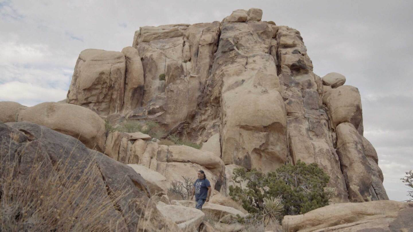 "Old Woman Mountains in the Mojave Desert | Still from ""Tending Nature"" episode ""Preserving the Desert with NALC"""