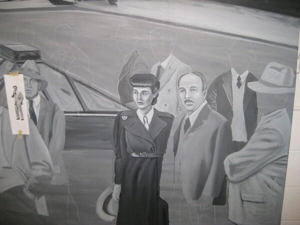 Edith Head and Fernando Palomares detail