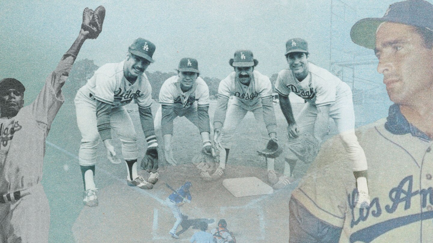 Dodgers Stories: 6 Decades in LA (featured graphic)