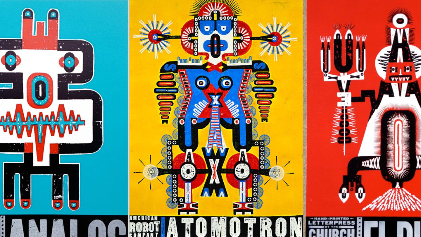 Robot series | Courtesy of Church of Type