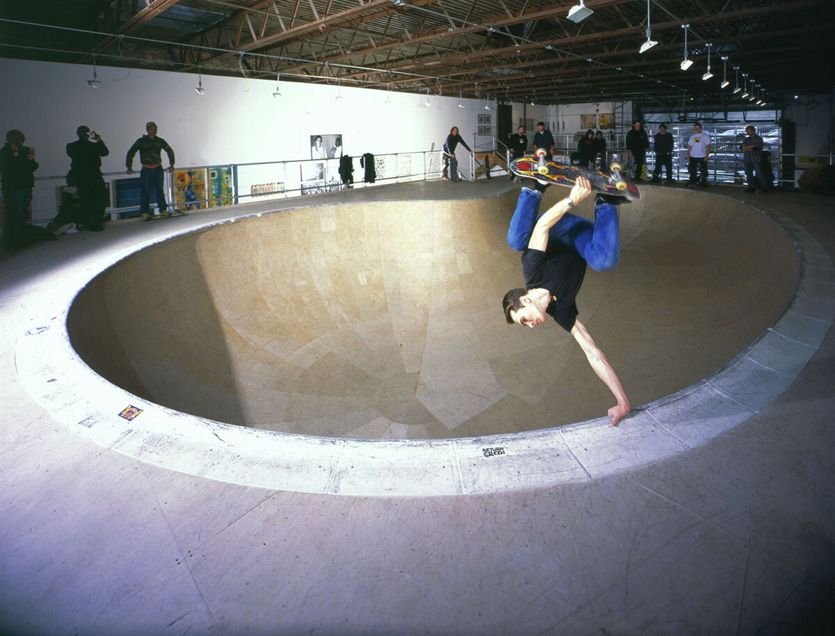 Session the Bowl, Deitch Projects, New York, 2003 | Courtesy of Jeffrey Deitch