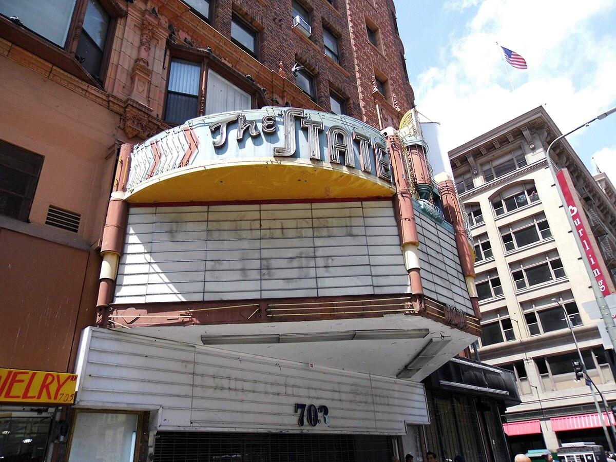 State Theatre exterior. | Sandi Hemmerlein