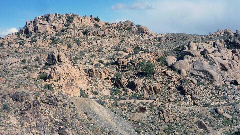 Desert Queen Mine in Joshua Tree National Park