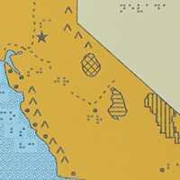 Braille Map of California (thumbnail)