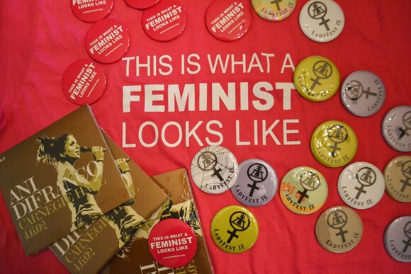 Raffle Items | Photo: Ladyfest I.E Facebook page.
