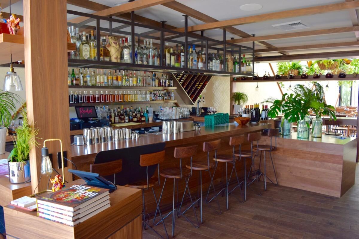 The bar at Rosaliné   Danny Jensen