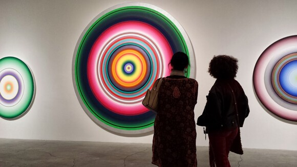 """""""CIRCLES/WORDS"""" at Ace Gallery."""