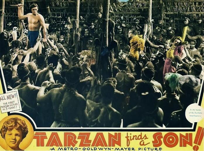 """""""Tarzan"""" Lobby Card"""