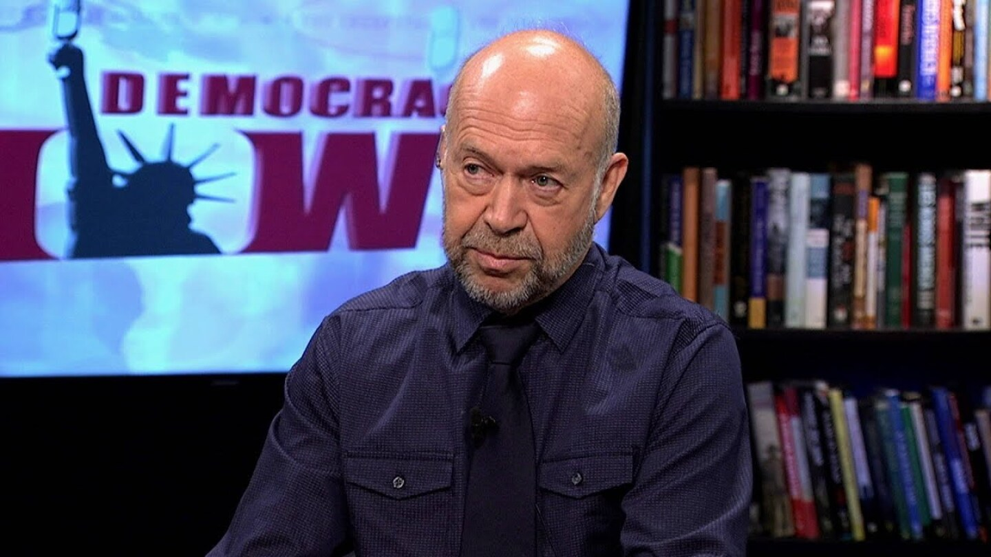 Ex-NASA Scientist James Hansen: There is a Clear Link Between Climate Change & Stronger Hurricanes