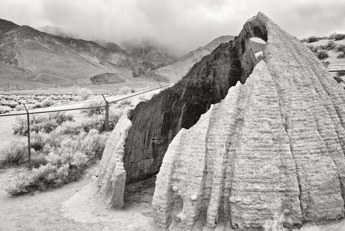 Cottonwood Charcoal Kilns - Infrared Exposure - Owens Lake, CA - 2013  | Osceola Refetoff