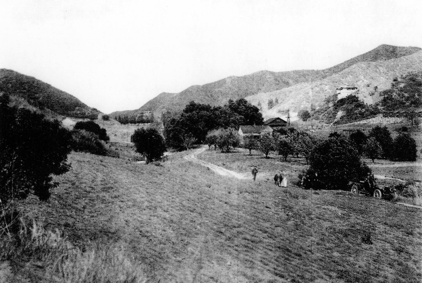 Coldwater Canyon, 1910