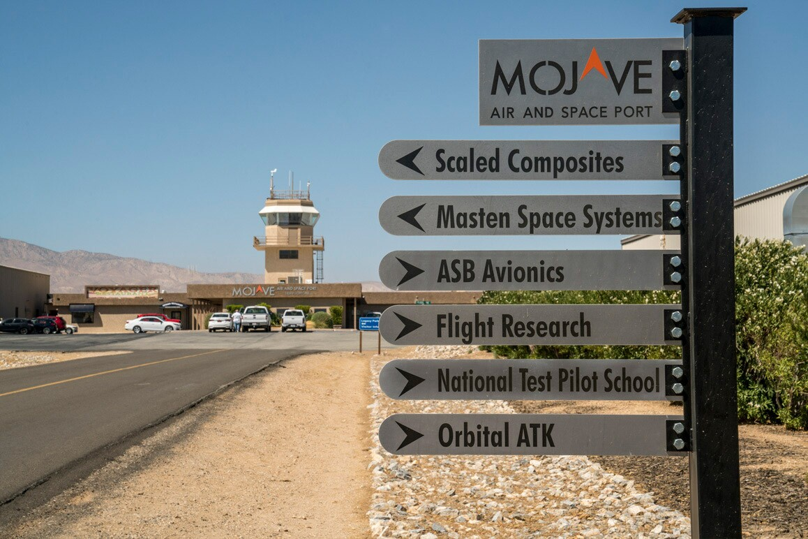 Numerous aerospace companies work out of the Mojave Air & Space Port. | Kim Stringfellow