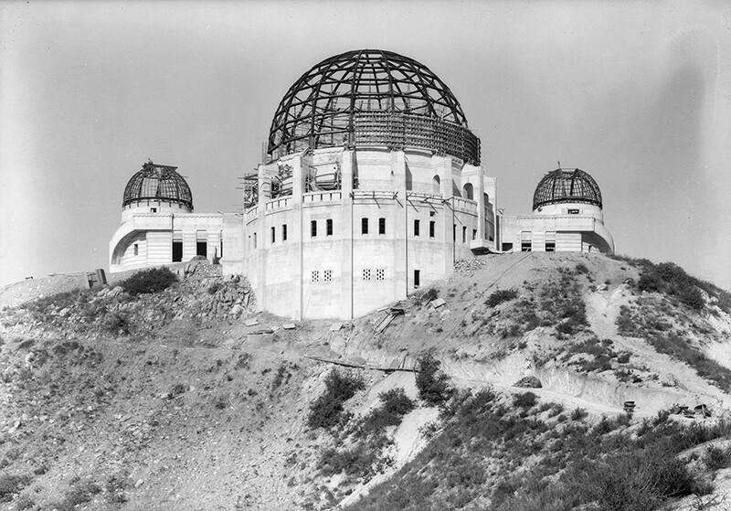 Progress of Griffith Park Observatory | Dick WhittingtonPhotographyCollection,1924-1987, University of Southern California Libraries