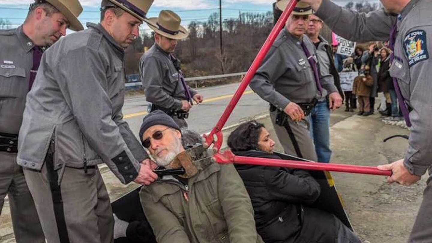 Oscar-Nominated Actor James Cromwell Speaks Out Before Jail Time for Peaceful Anti-Fracking Protest