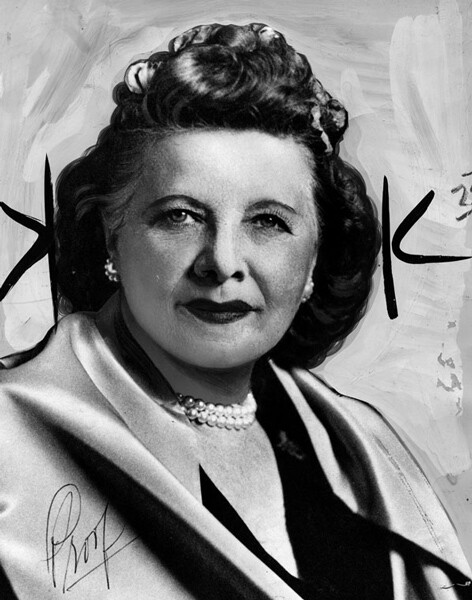 Artistic portrait of Christine Sterling ca. 1963   Courtesy of Los Angeles Public Library