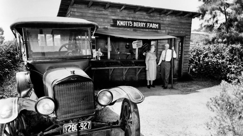 Replica of Knott's Berry Farm roadside stand